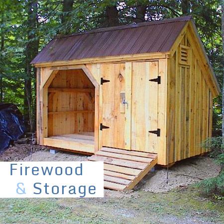 Woodshed / Storage Combo