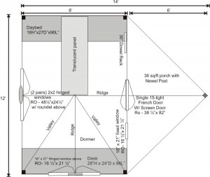 Writers Haven Floor Plan