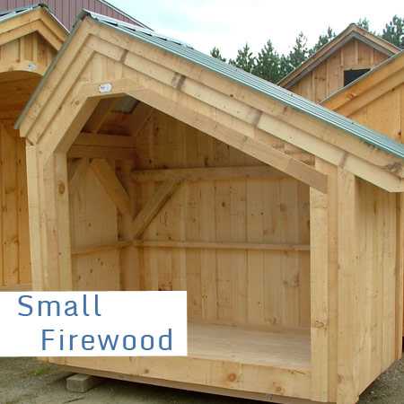 Small Wood Sheds