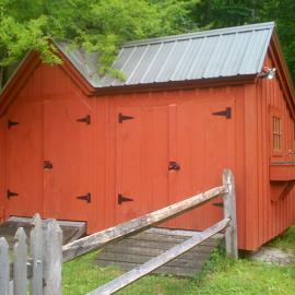 Garden Sheds Vermont garden potting sheds | wood playhouse kit | jamaica cottage shop