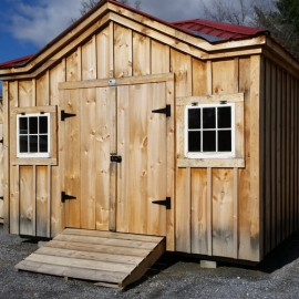 10x12 Tool Shed - Exterior
