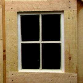 "16""x21"" Four-Light Barn Sash Window"
