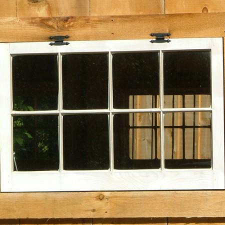 3x2 Hinged Barn Sash Window