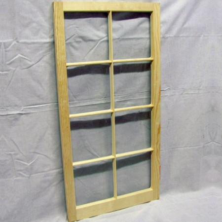 2x4 Eight Light Barn Sash Window