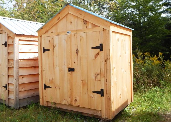 Garbage storage shed garden tool storage shed jamaica for Utility storage shed