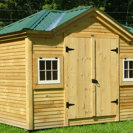 8x12 Tool Shed - Exterior