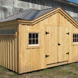 Customized Tool Shed Exterior