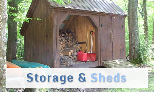 Storage and Sheds Sidebar