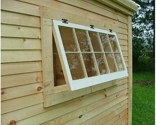 Horizontal Divided Barn Sash Window 4x2x10 Diy Windows