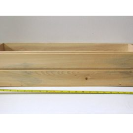 Wooden Cedar Flower Box
