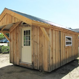 10x Gable - custom built studio exterior