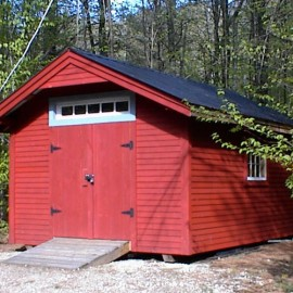 10x Gable - custom built shed exterior