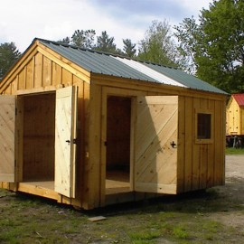10x14 Gable - Custom shed exterior