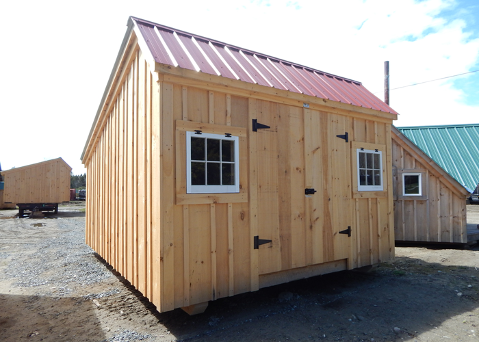 Saltbox shed plans storage buildings kits jamaica for Saltbox storage shed