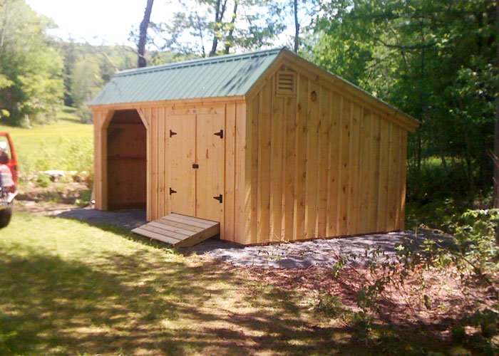 Saltbox shed plans storage buildings kits jamaica for Saltbox garden shed plans