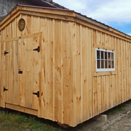 12x20 Gable - Custom Exterior