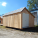 12x20 Saltbox Shed - custom exterior