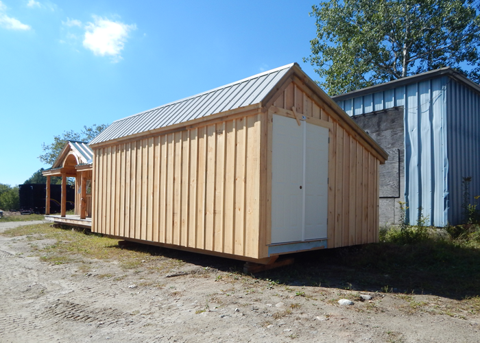 Saltbox shed plans storage buildings kits jamaica for Shed roof cottage