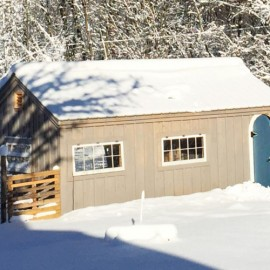 12x20 Gable - Custom barn exterior
