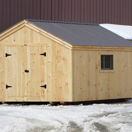 12x20 Gable - barn exterior