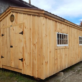12x20 Gable - Custom barn exterior