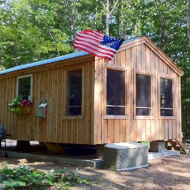 14x26 Camping Cabin