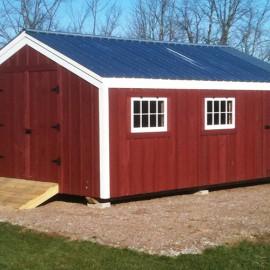14x20 Barn - Custom Exterior