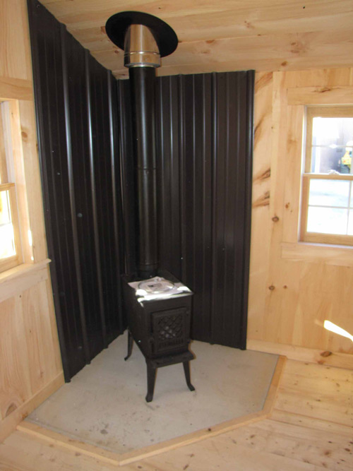14x26 Camping Cabin - Insulated Interior