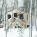 14x26 Camping Cabin w/ four season upgrade and solar electric package.