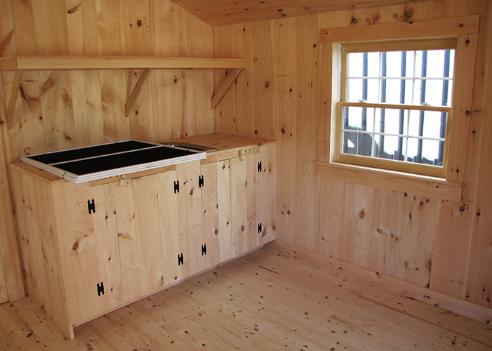 X Camping Cabin Kitchen Off Grid Gray Water