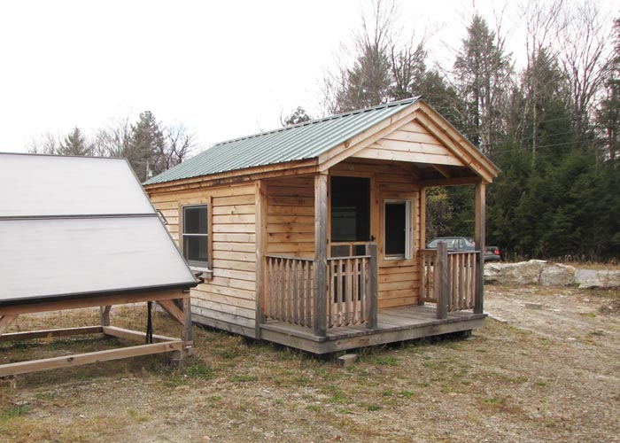 Prefab cabins from the jamaica cottage shop for Cost of building a house in jamaica