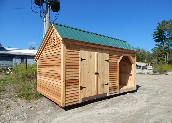3 5 Cord Wood Shed And Storage Building