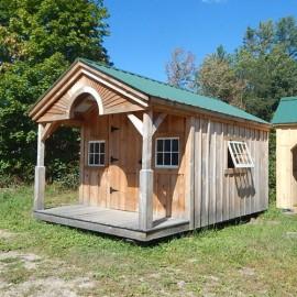 10x16 Pond House - custom clearance cabin