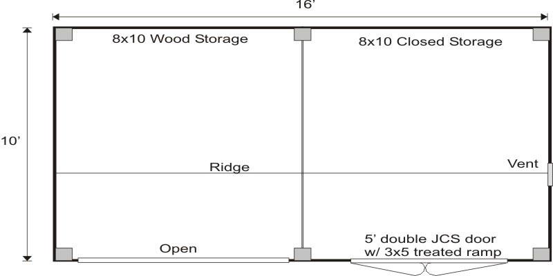 10x16weekenderfloor