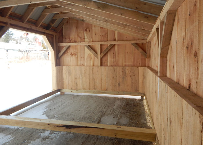 Horse Stall Kits Prefab Run In Sheds Livestock Shelter