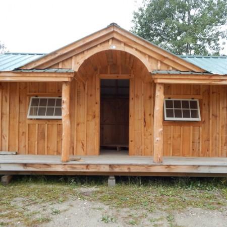 Gibraltar cabin jamaica cottage shop for Board and batten cabin plans