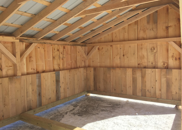 12 20 Floor : Horse stall kits prefab run in sheds jamaica cottage shop