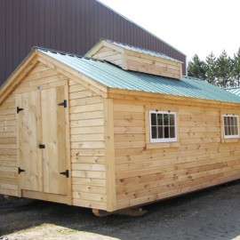 12x20 Sugar Shack - custom exterior