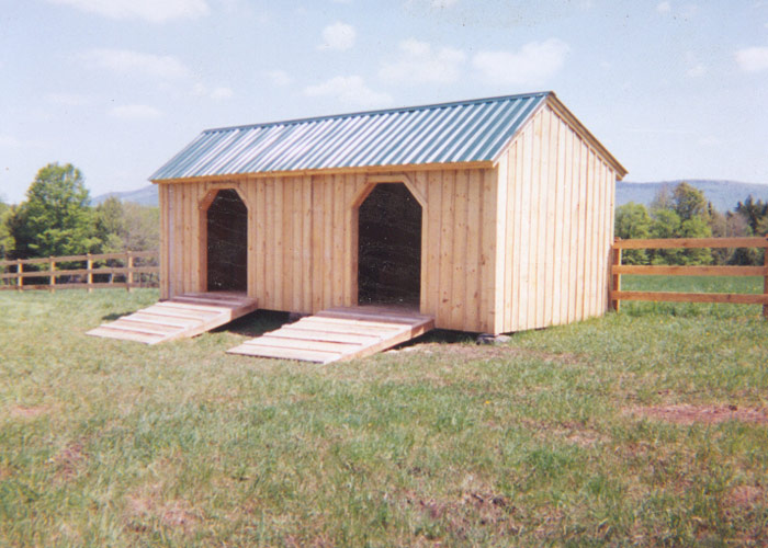 Horse stall kits prefab run in sheds jamaica cottage shop for 12x28 shed