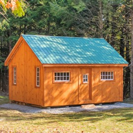 16x20 Vermont Cottage Option B Exterior