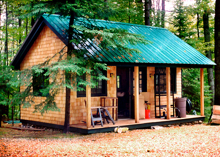 Kits plans and prefab cabins from the jamaica cottage shop for Large cabin kits