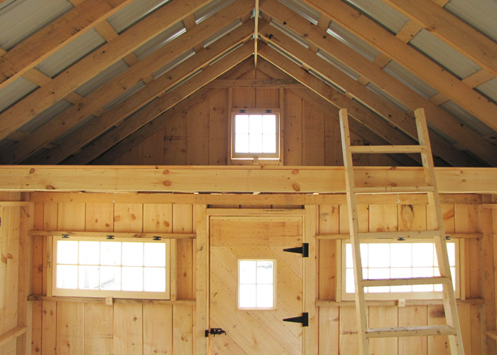Log Cabin Plans With Loft