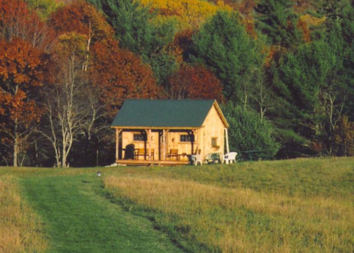 Vermont Cottage Kit Option A Jamaica Cottage Shop