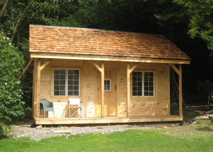 Do It Yourself Home Design: Vermont Cottage Kit (Option A)