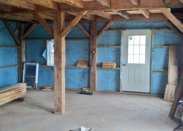 Kits for 20 x 30 timber frame cabin jamaica cottage shop for Wood frame house in florida