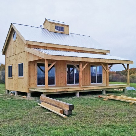 Prefab tiny house kits perfect prefab cabin retreats tiny Timber frame house kits for sale