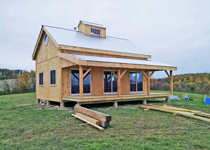 Kits For 20 X 30 Timber Frame Cabin