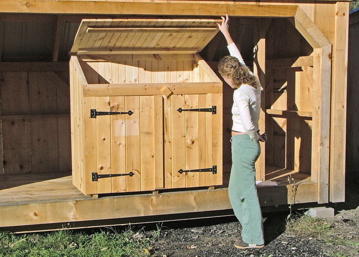 Nice Trash Can Shed Outdoor Storage