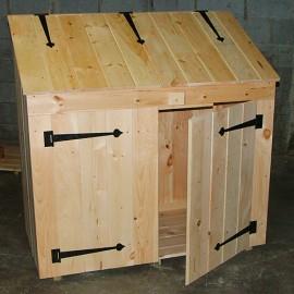 2x4 Garbage Bin - Pine