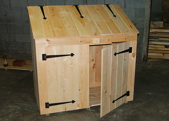 Trash Can Shed Outdoor Trash Can Storage Shed